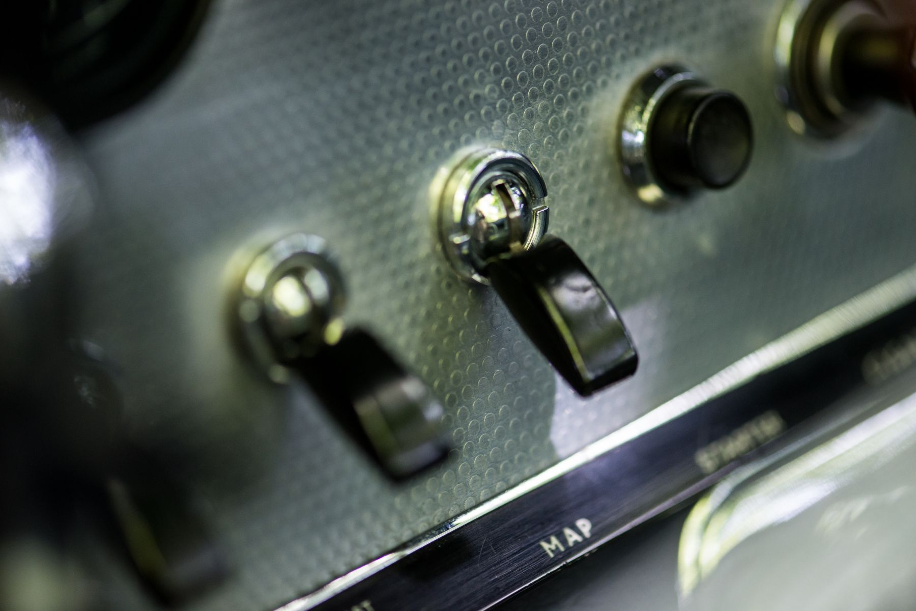 Jaguar E-type 3.8 Open Two Seater 1962 interior