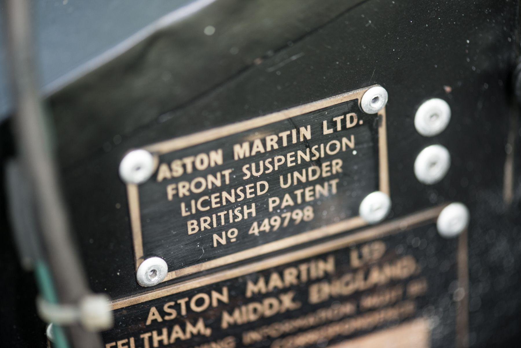 Aston Martin DB MKIII 1958 matching numbers