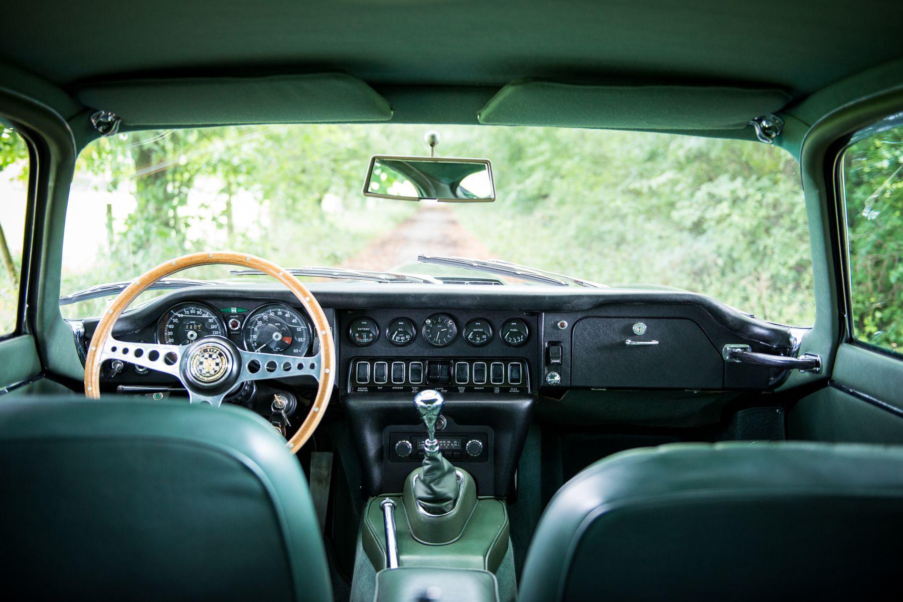 Jaguar E-type 4.2 Fixed Head Coupe 1967 interior