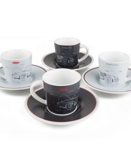 Espresso set Jaguar E-Type