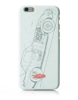 iPhone hoes/cover Jaguar E-Type