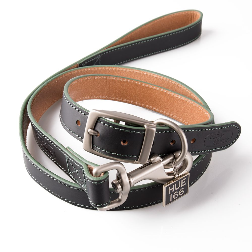 Land Rover Heritage HUE leren hondenriem en halsband