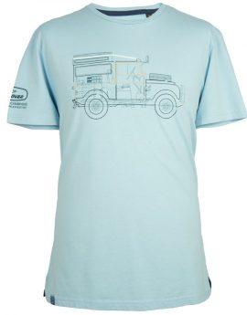 Land Rover Defender Heritage T-shirt blauw