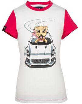 T-shirt Jaguar voor meisjes