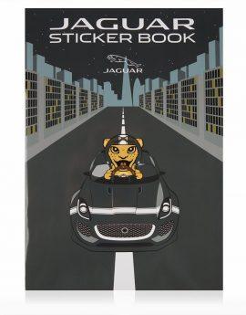 Stickerboek Jaguar voor kinderen